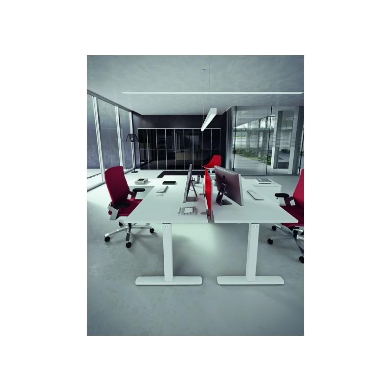 Scrivania Della Valentina Office. Scrivania semplice e minimale.