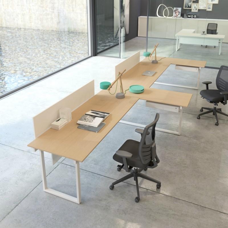 Be 1 scrivanie composte da ufficio for Scrivanie per ufficio