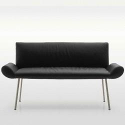 GINEVRA divanetto con braccioli Quinti elegante e raffinato