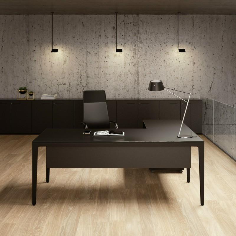 Alplus scrivania contemporanea frezza for Scrivania design