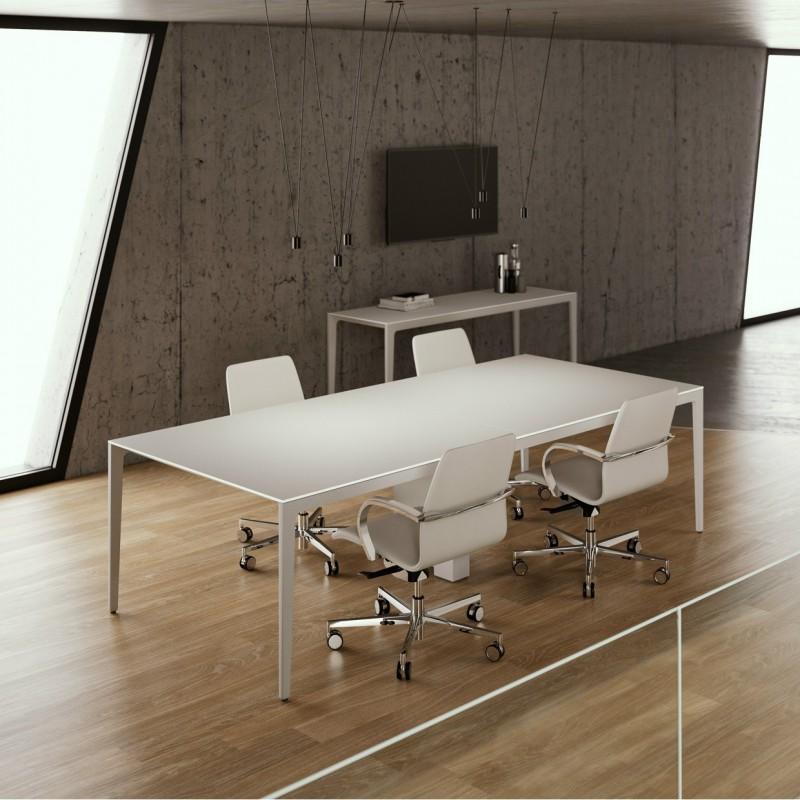 tavolo riunioni elegante frezza