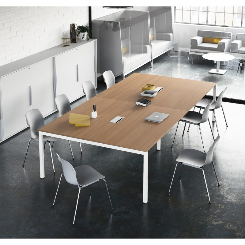 Tavoli riunione easy di frezza leggeri e componibili - Tavoli regolabili in altezza prezzi ...