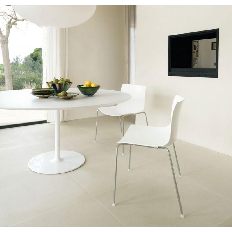 Dizzie moderno tavolo con base ovale di arper per ufficio - Tavolo ovale moderno ...