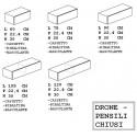 DR-ONE - Mobili Pensili modulari chiusi H 30 di De Rosso