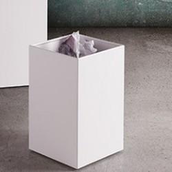 DESIGN - Cestino gettacarte in acciaio di Caimi