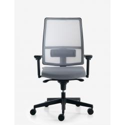 SUGAR NET poltrona per ufficio con schienale in rete