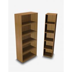 FUNNY Libreria robusta alta a giorno linea About Office