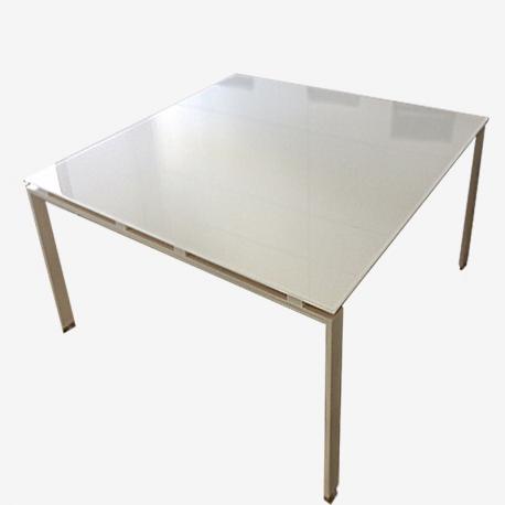 Tavolo Riunione Piano Vetro Executive : Tavoli per riunioni in vetro