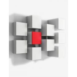 DR-ONE - Mobili pensili con cassetto di De Rosso pratici e funzionali