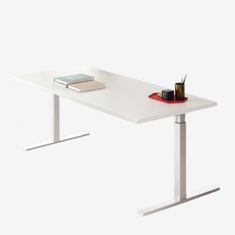 Pop tee scrivania operativa frezza gamba regolabile in altezza - Tavoli regolabili in altezza prezzi ...