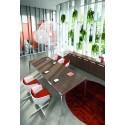 RYM - Tavolo riunioni in vetro Della Valentina Office