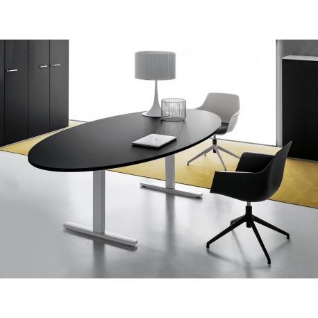 NOBU tavolo riunioni ovale per sale riunioni